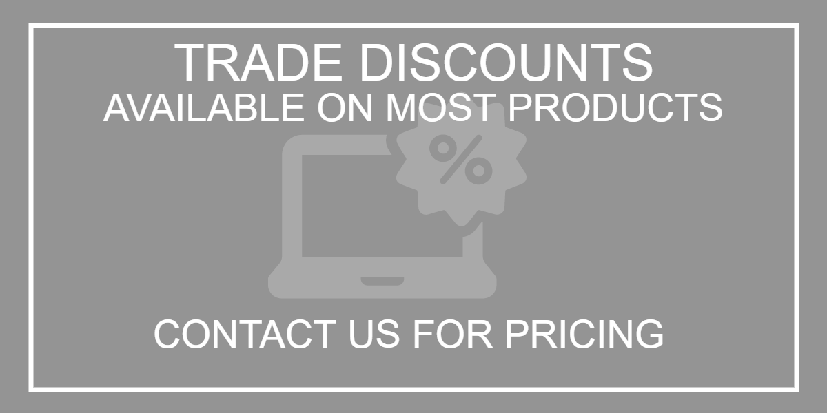 Trade discounts available